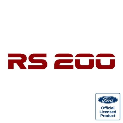 RS200 Rear decal