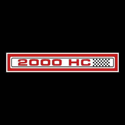 2000HC Decal