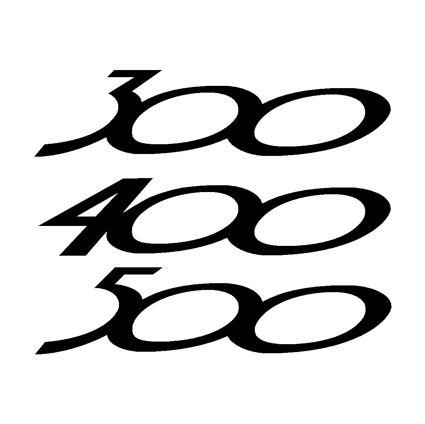 300 - 400 - 500 Decals