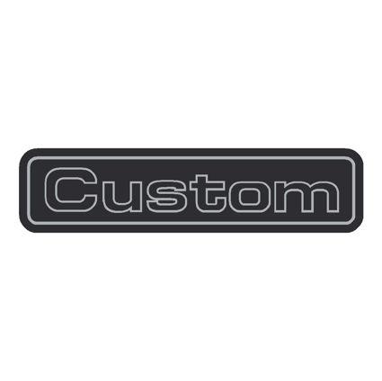 Custom Decal for dash