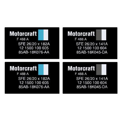 Escort Mk3 RS Turbo Shock Absorber Decals