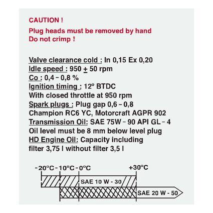 Escort RS1600i slam panle decal
