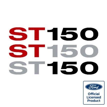 Fiesta ST150 decals (official)