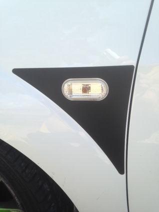 Fiesta Mk6 ST150 Wing Vinyl Decals - PAIR