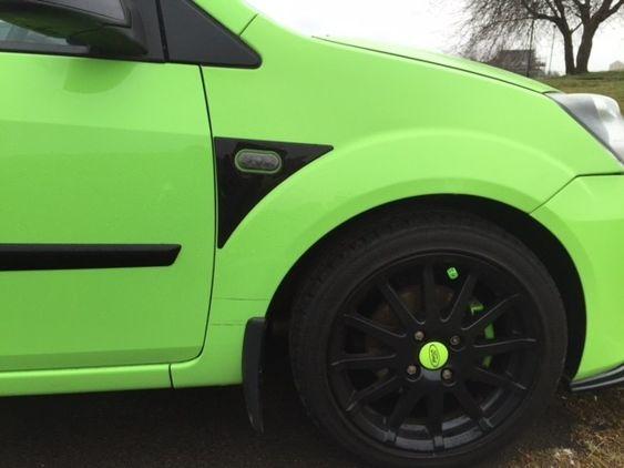 Fiesta Mk6 Wing Decals