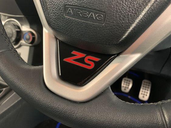 Fiesta Mk7 Mk7.5 Lower Steering Wheel Badge - ZS Logo
