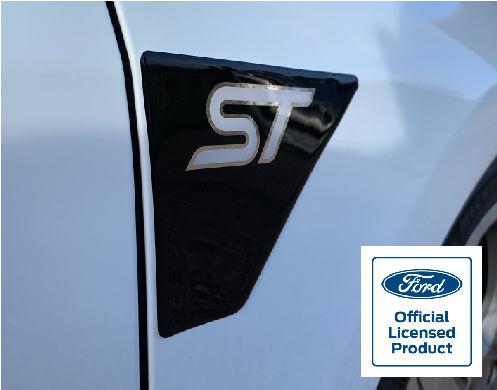 Fiesta Mk8 ST Wing GEL Badges Gallery Image