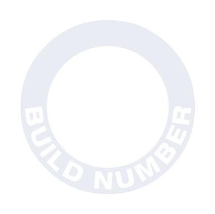 Focus Mk1 RS build number decal