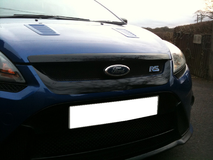 Green Mk2 Ford Focus RS WINDOW sticker decal rally My other car is a