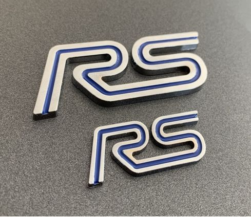 Focus RS Mk1 Badges