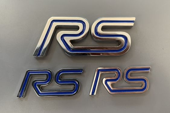 Focus Mk1 RS Badges 2