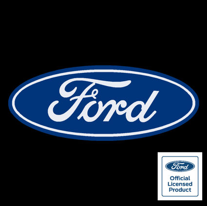 Ford Oval Blue White