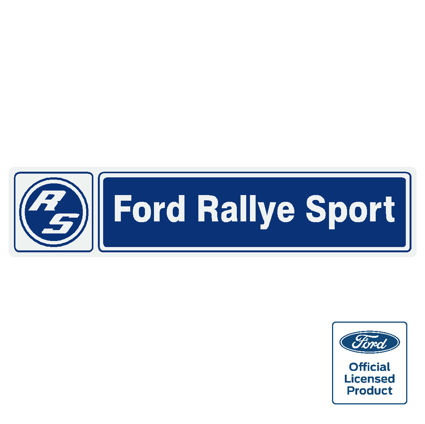 Ford rs rallyesport sticker 150mm