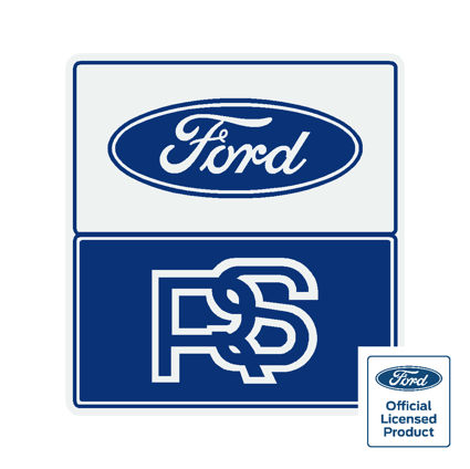 Ford rs sticker square (official)