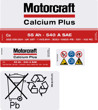 Motorcraft Battery Decals 097 55ah