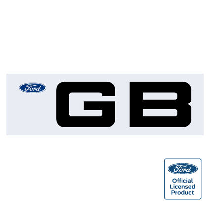 Ford GB sticker