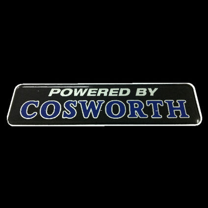 Powered by Cosworth Black