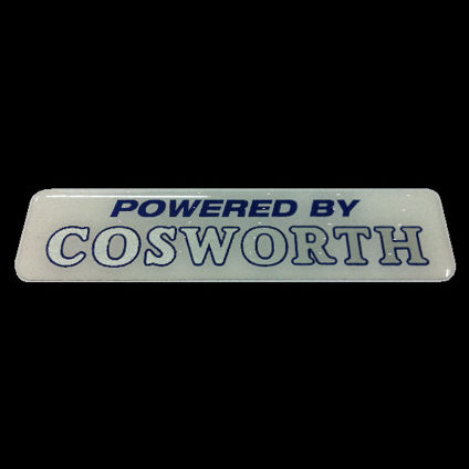Powered by Cosworth White