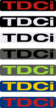 TDCi Gel Badge