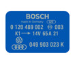 Bosch Coil Decal Blue 0120489002 VW Audi