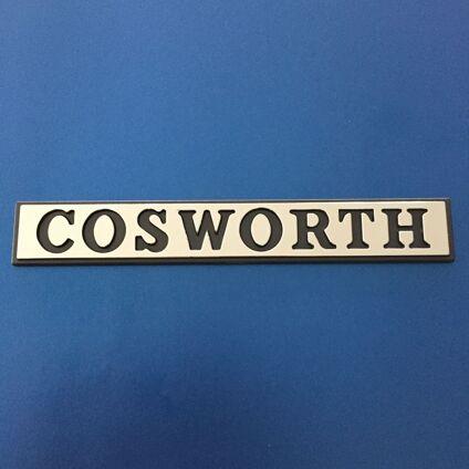 Cosworth Plastic Badge