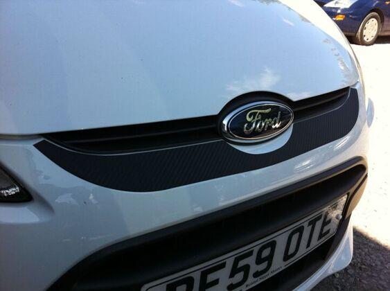 Fiesta Mk7 Front Bumper - Grille Vinyl