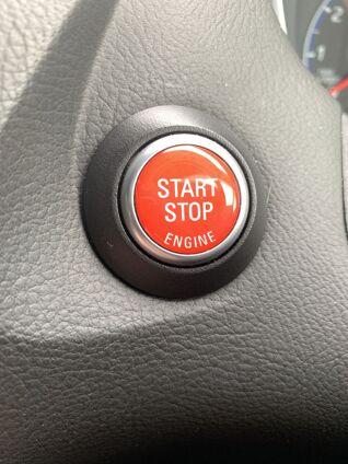 Start Button Badge Start Stop Red
