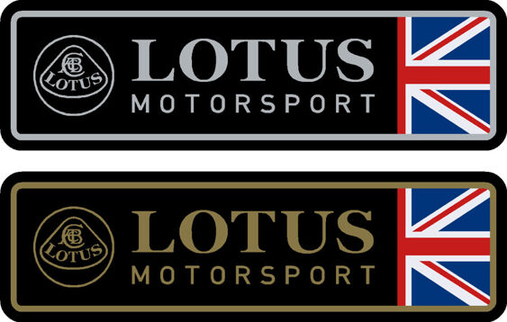 Lotus Motorsport Decals Both