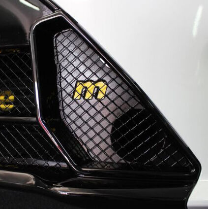 M Logo Gel badge for Mountune x4 Induction Kit
