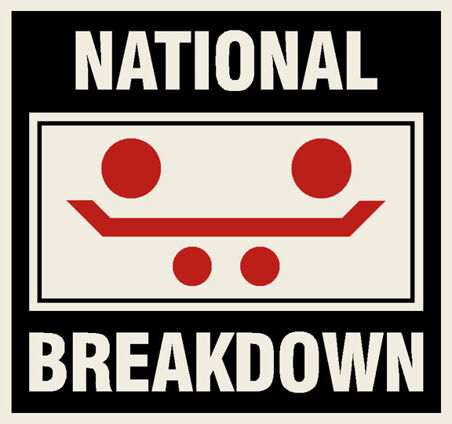 National Breakdown Decal