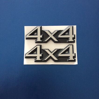 4x4 Wing badges