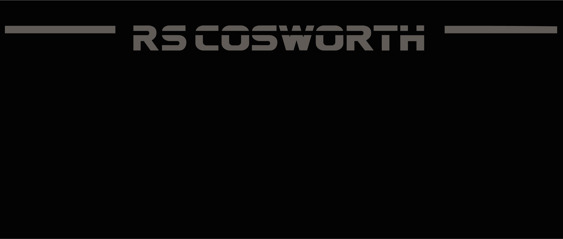 RS Cosworth Wing decals