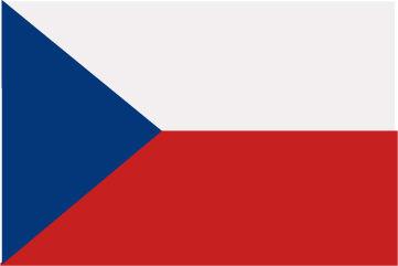 Rally Names - External Fitting - Czech Republic Flag