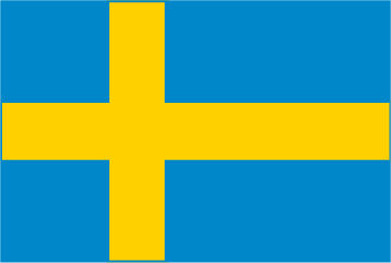 Rally Names - External Fitting - Sweden Flag