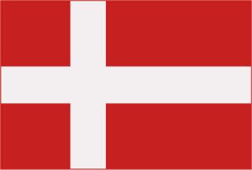 Rally Names - External Fitting - Denmark Flag