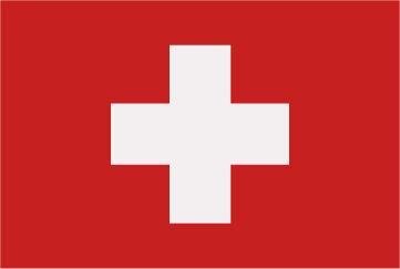 Rally Names - External Fitting - Switzerland Flag