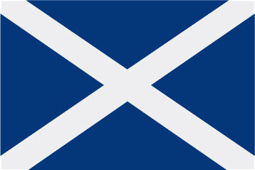 Rally Names - External Fitting - Scotland Flag
