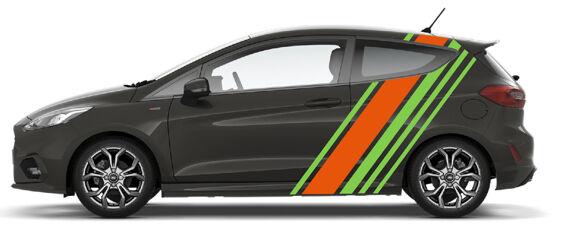 Green / Orange