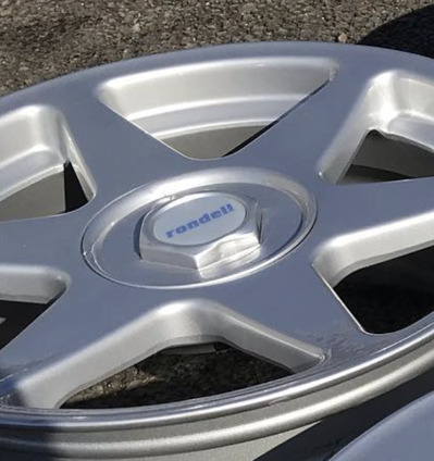 Rondell 60mm Wheel Centre Gel Overlays