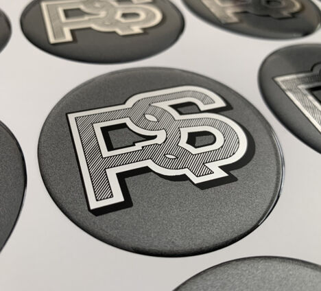 RS Diamond Cut Badges