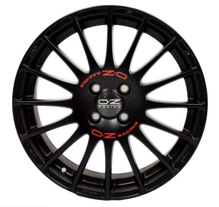 OZ Super T Wheel decals Red
