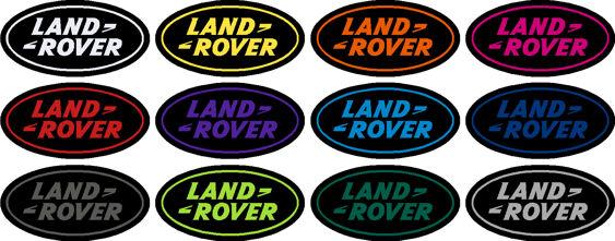 Land Rover Gel Badges
