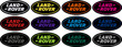 Land Rover Badge Set Colours