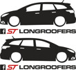 Longroofers silhouette decals PFL3