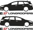 Longroofers silhouette decals FL3