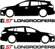 Longroofers silhouette decals 4