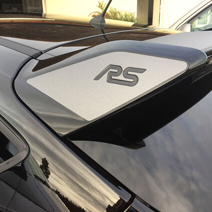 Focus Mk3 RS spoiler decals 2