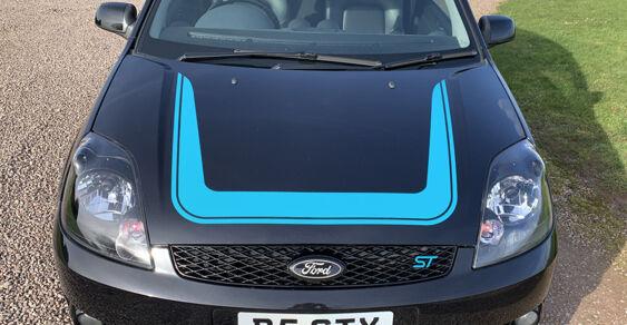 Fiesta ST500 Bonnet Decal 2