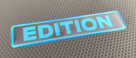 Black/Nitrous Gel Badge