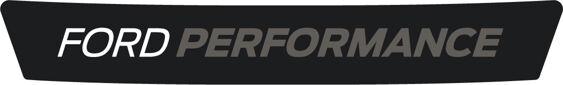 Ford Performance Logo - White/Grey